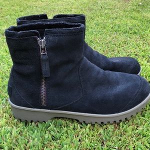 Sorel Meadow Zip Suede Waterproof Boots